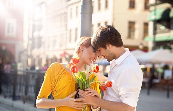 ovulazione, coppia felice