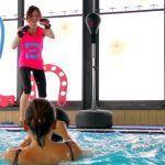 Sparringball: allenamento cardio kombat sia a terra che in acqua